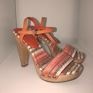 Prada sandal heels